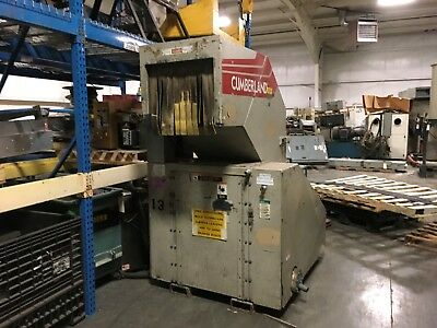 cumberland 8x24 granulator, 3 phase, used for plastics, YF-133M