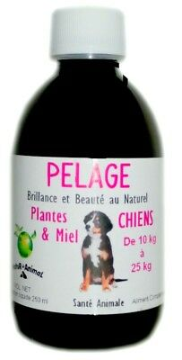 Pelage Chiens   de 10 à 25  KG Natur Animal