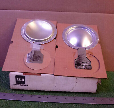 """2 New Bs&b Safety Systems 92006161-2 3"""" Rupture Discs  ***make Offer***"""