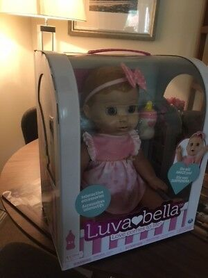 New Sealed Luvabella Blonde Interactive Doll Fast Postage