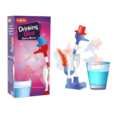 Drinking Bird - Sc271 Novelty Retro Glass Bird Duck Bobbing Dipping