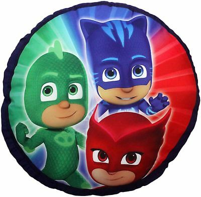 PJ Masks Panel Family Round Circle Premium Cushion Pillow