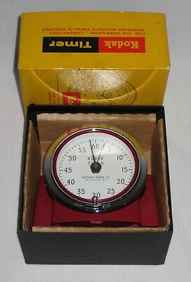 Vintage  EASTMAN KODAK Darkroom Timer 8239 Mechanical Windup New in Box