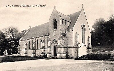 ST COLUMBA`s COLLEGE, DUBLIN, 12 x VINTAGE POSTCARDS - UNPOSTED.