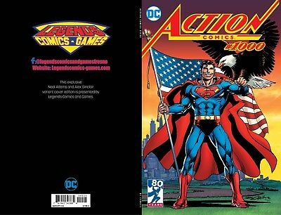 DC Action Comics #1000 Legends Comics and Games Neal Adams Variant