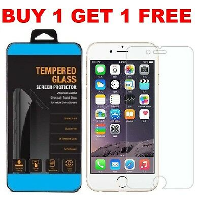 Screen Protector For Apple iPhone 6s & 6 - Tempered Glass 100% Genuine