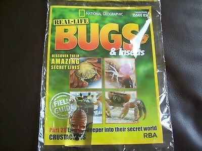 National Geographic Real-life Bugs & Insects magazine Issue 85