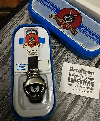 1997 Looney Tunes Armitron Watch Marvin the Martian! In Box