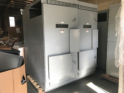Cutler-Hammer dual Vacuum Circuit Breaker VCP-WR units with Digitrip 3000 units