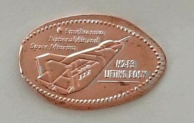 SMITHSONIAN NATIONAL AIR AND SPACE MUSEUM - M2-F3 LIFTING BODY  elongated penny