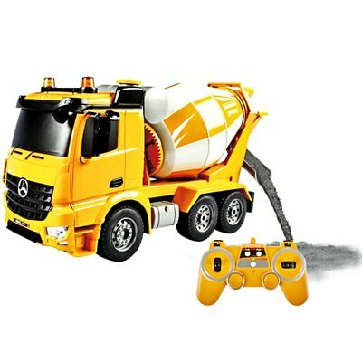 DOUBLE E 17 Channel RC Excavator Metal Shovel Remote Control Construction Tracto