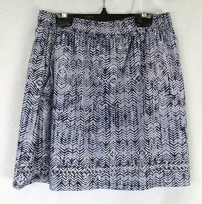 Toad&Co Womens Sunkissed Skort T822800 Thristle Herringbone Print Size Small
