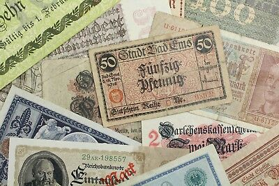 {DO367B} Lot of 13 German Banknotes