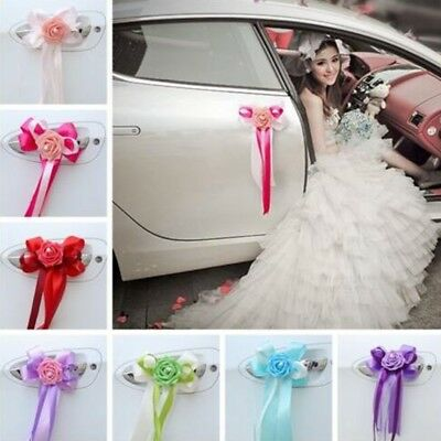 5x Pull Bows Ribbons Wedding Flower Car Decoration Birthday Wrap Gift Present