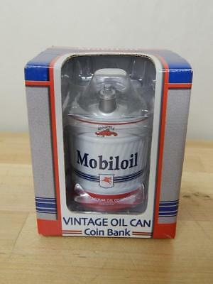 1st Gear Vintage Mobil Oil Gas Can Bank Diecast 1:4 Scale