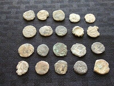 Lot of (5) Uncleaned Better Grade Ancient Roman Coins