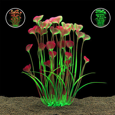 GYrass Aquarium Decoration Water Weeds Ornament Plastic Plant Fish Tank  RU