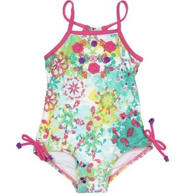 NWT Baby Girls Cupid Bejeweled One Piece Swimmers - Size 00
