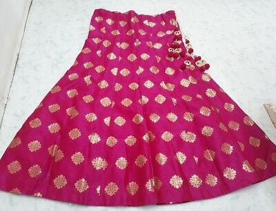 USA Pink Lehenga skirt Indian skirt