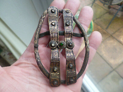 Amazingly Rare Anglo Saxon/Medieval Cloak Fastener/Brooch-Metal Detecting Find