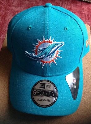New Era 9FORTY NFL Miami Dolphins The League  Curved Peak  Baseball Cap
