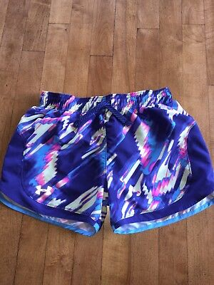 Youth Girls UNDER ARMOUR Shorts Sz L/G