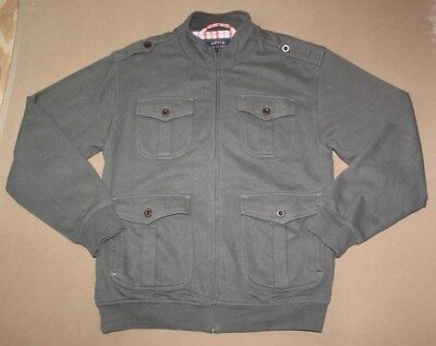 ORVIS Mens Vintage Issue Military Grade Zip Front Coat Jacket Size M