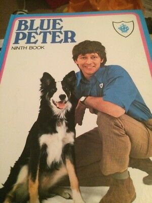 R Fathers Day Gift Vintage BLUE PETER ANNUAL 9th Edition UnClipped