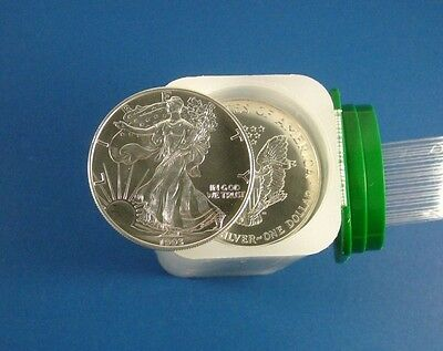 1993 American Eagle 1oz Silver Bullion coins - Roll of 20 UNC