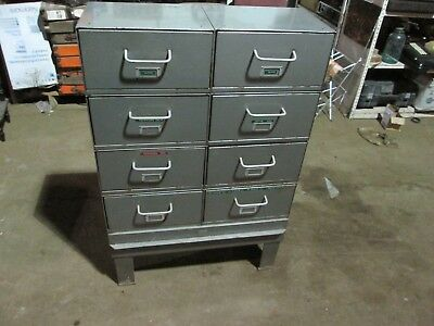 Mcbee Company Medical Cabinet With Slide Down Drawers. Rare Medical