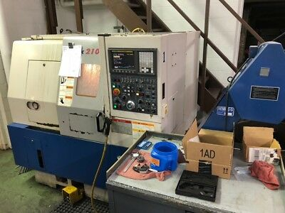 "Used Daewoo Lynx 200A CNC Turning Center Lathe Chucker Fanuc 6"" Chuck Chip 2004"