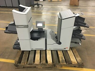 Neopost DS-86 Folder / Inserter with 400NP Paper Jogger, Table & Accessories