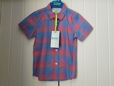 Boys Ted Baker Occasion Checked Shirt ☆BNWT☆ 2-3 Years..