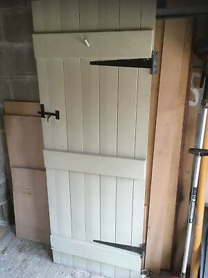 Reclaimed Panelled Door