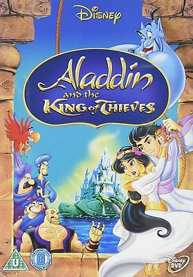 Aladdin and the king of thieves DVD. New and sealed. Free postage.