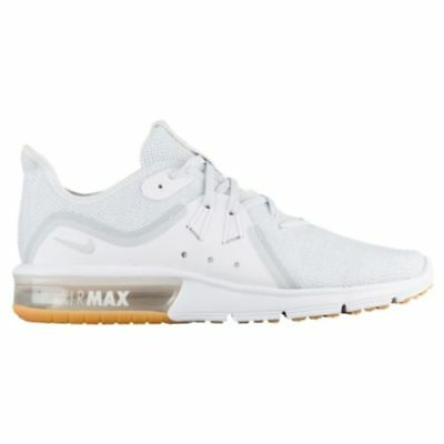 a64974f10c4 NIKE AIR MAX Sequent 3 White Pure Platinum Gum Womens Running ALL ...