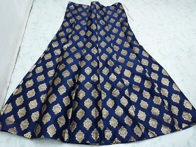 USA Navy blue Lehenga skirt Indian skirt