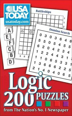 USA Today Logic Puzzles 200 Puzzles from the Nation's No. 1 New... 9780740770364