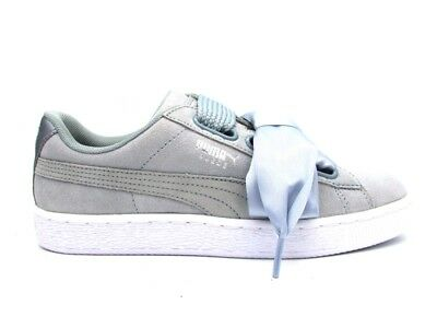 outlet store a5043 6f084 PUMA SNEAKERS SUEDE Heart Safari Wn's Black-Beige 364083-03 ...