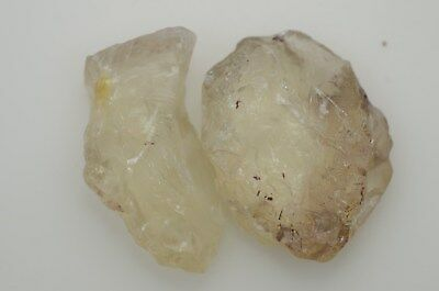 Plush Oregon Sunstone Clean Crystal Champagne Yellow Faceting Rough 69.0ct #2384
