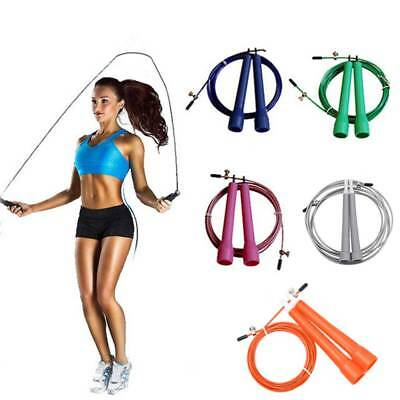 Speed Wire Skipping Jump Rope Sporting Goods Fitness Exercise Cardio Crossfit