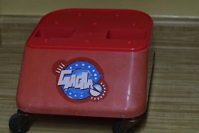 Tomy Gacha  Vending Machine Plastic Stand replacement - red
