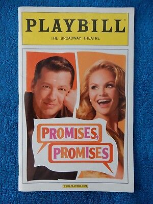Promises, Promises - Broadway Playbill w/Ticket - Opening Night April 25th, 2010