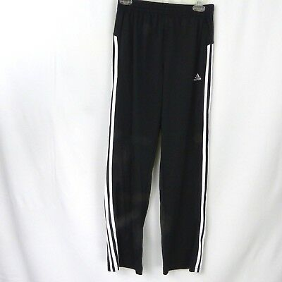 Adidas Track Pants Big Kids Youth Large 14 16 Or Womens Xs Black White
