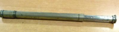Antique Single Draw Telescope  Made by George Lee & Son of Portsea England