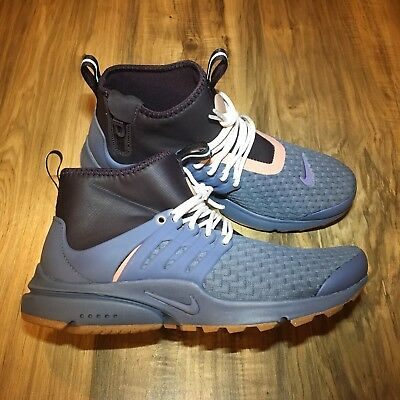 competitive price d6f6e 30a2d Like us on Facebook · Womens Nike Air Presto Mid Utility Premium Training Shoe  Size 10 Multi Color