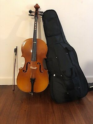 Cello with bag and bow