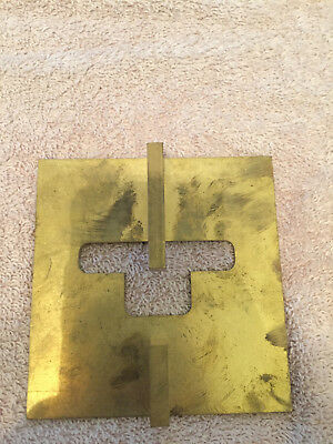 brusso hardware TJ-638 router template for hinges