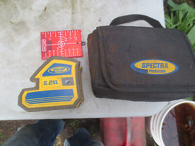Spectra Precision 5.2XL 5-Point and 2-Line Laser Level Magnetic Mount MISSING