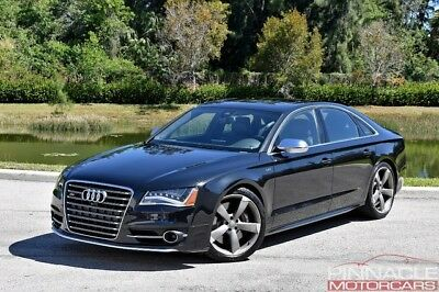 2013 Audi S8 Quattro $128,645 MSRP Only 30k Miles! One Owner! 2013 Audi S8 Quattro NightVision, B&O Sound, Driver Assistance Pkg $128,645 New!